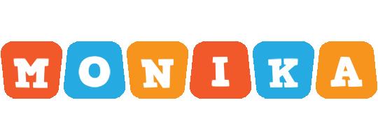Monika comics logo