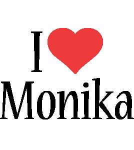 Monika i-love logo