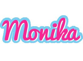 Monika popstar logo