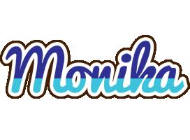 Monika raining logo