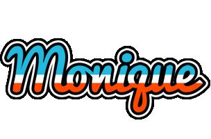 Monique america logo