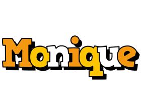 Monique cartoon logo