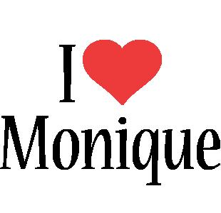 Monique i-love logo
