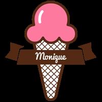 Monique premium logo
