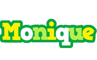 Monique soccer logo