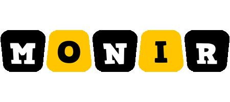 Monir boots logo