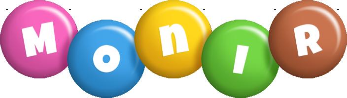 Monir candy logo