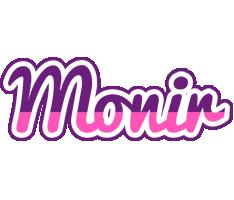 Monir cheerful logo