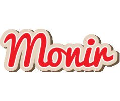 Monir chocolate logo
