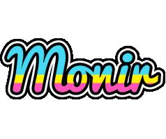 Monir circus logo