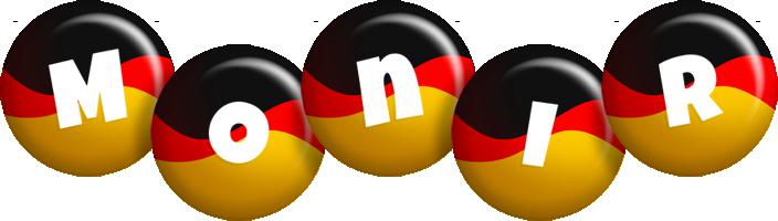 Monir german logo