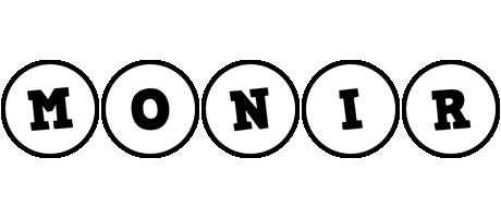 Monir handy logo