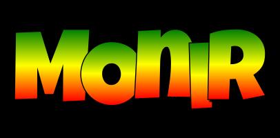 Monir mango logo