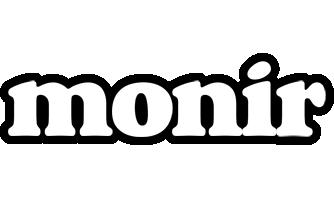 Monir panda logo