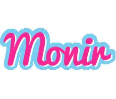 Monir popstar logo