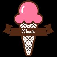 Monir premium logo