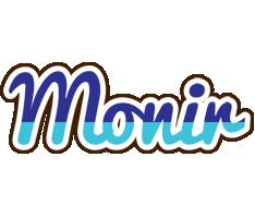 Monir raining logo