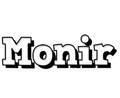 Monir snowing logo