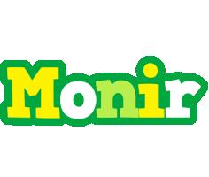 Monir soccer logo