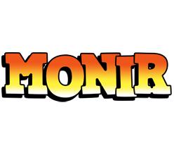 Monir sunset logo