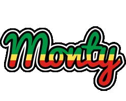 Monty african logo