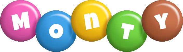 Monty candy logo