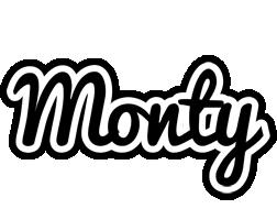 Monty chess logo