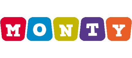 Monty daycare logo
