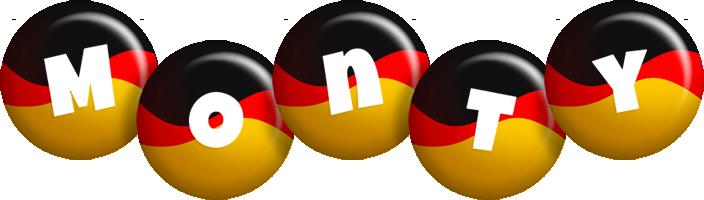 Monty german logo