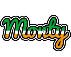 Monty ireland logo