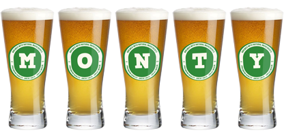 Monty lager logo