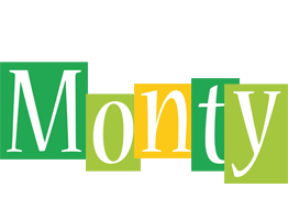 Monty lemonade logo