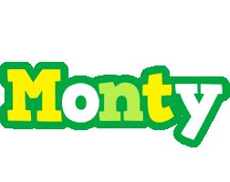 Monty soccer logo