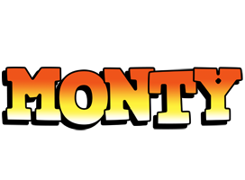 Monty sunset logo