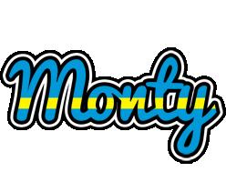 Monty sweden logo