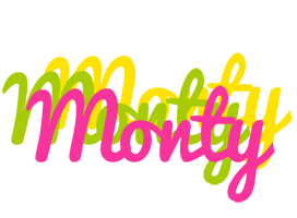 Monty sweets logo