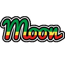 Moon african logo