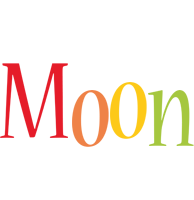 Moon birthday logo