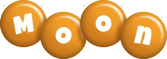 Moon candy-orange logo