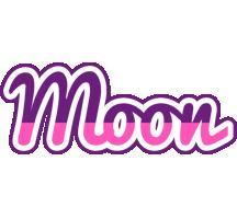 Moon cheerful logo