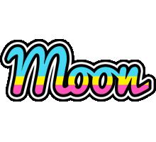 Moon circus logo