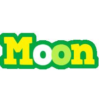 Moon soccer logo