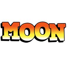 Moon sunset logo