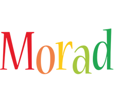 Morad birthday logo