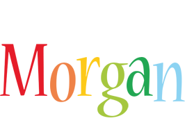 Morgan birthday logo
