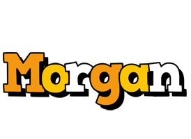 Morgan cartoon logo