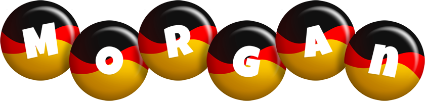 Morgan german logo
