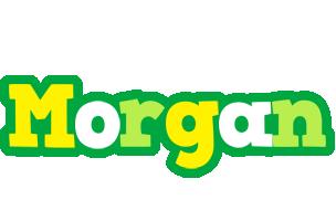 Morgan soccer logo