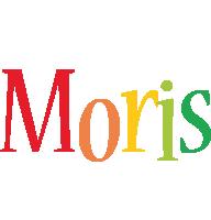 Moris birthday logo