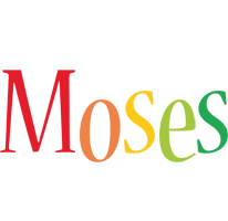 Moses birthday logo